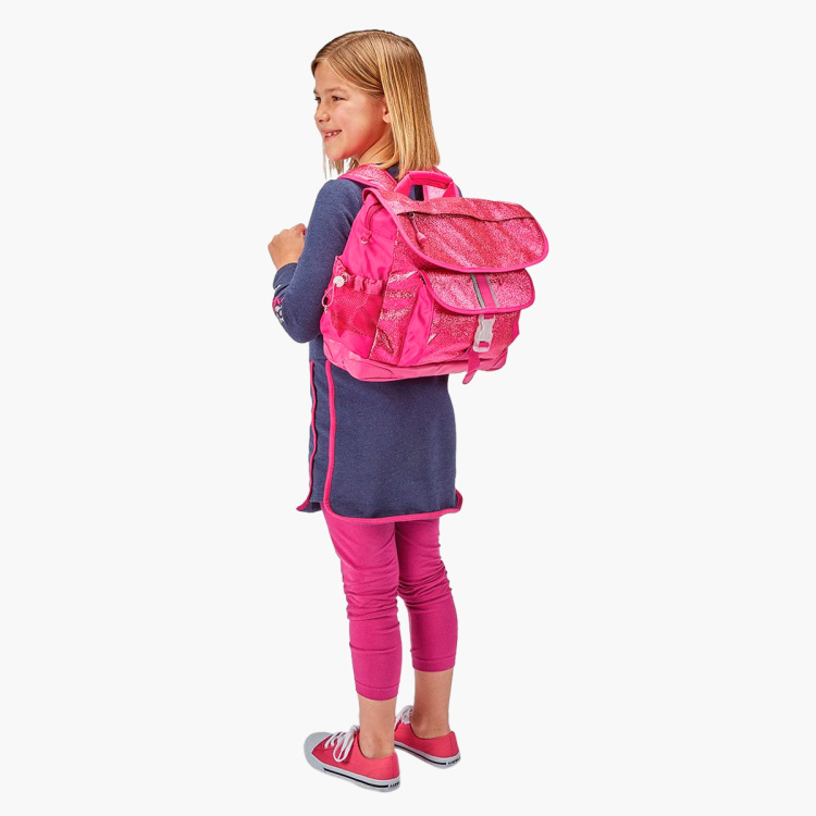 Bixbee Sparkalicious Ruby Raspberry Backpack