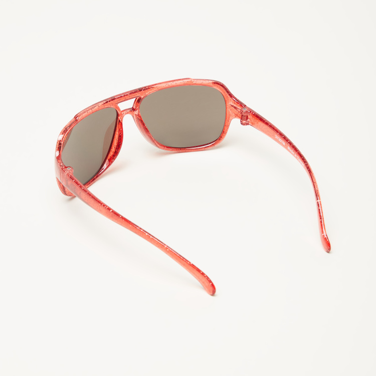 Juniors Printed Aviator Sunglasses