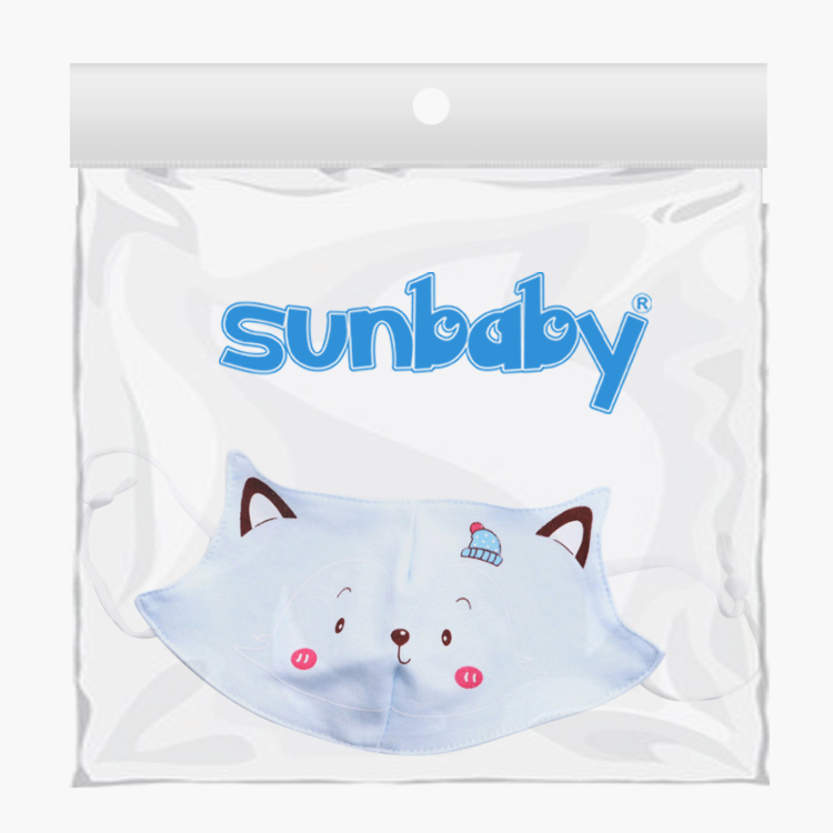 Sunbaby Printed Face Mask -  3 to 10 Years