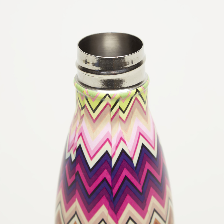 Juniors Chevron Print Thermos Flask - 350 ml