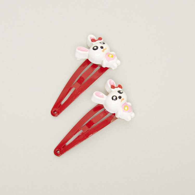 Charmz Embellished Hair Clips - Set of 2