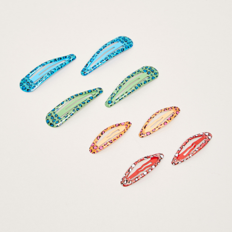 Charmz Hair Clip - Set of 8