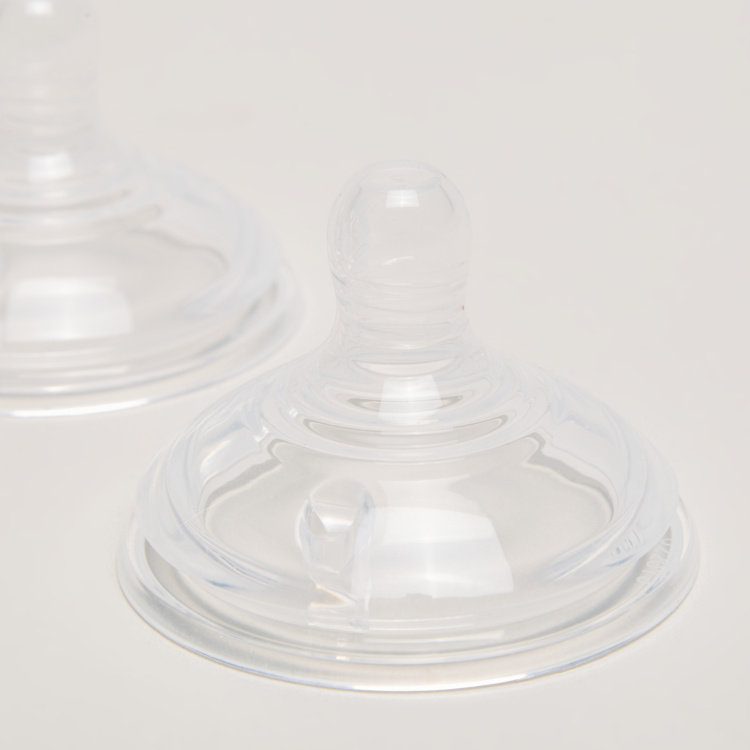 Tommee Tippee Closer to Nature Fast Flow Teat - Set of 2