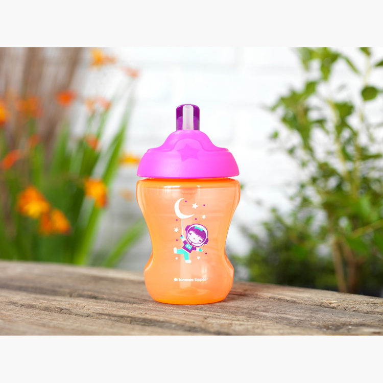Tommee Tippee Printed Easy Drink Straw Cup with Handle