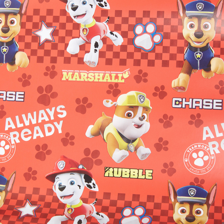 Paw Patrol Print Gift Wrapping Paper