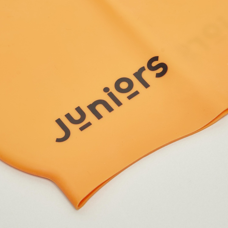 Juniors Solid Swimming Cap