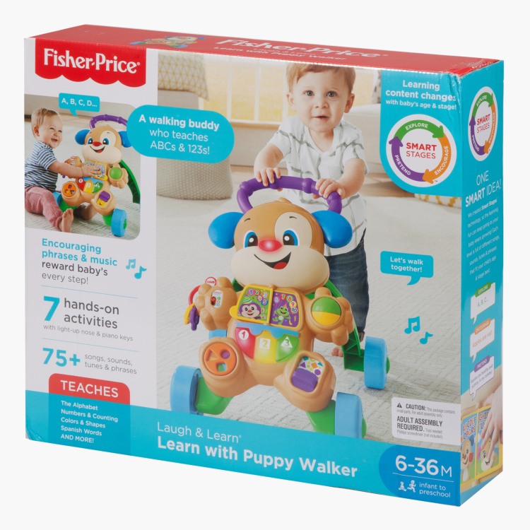 Fisher-Price Smart Stages Puppy Walker