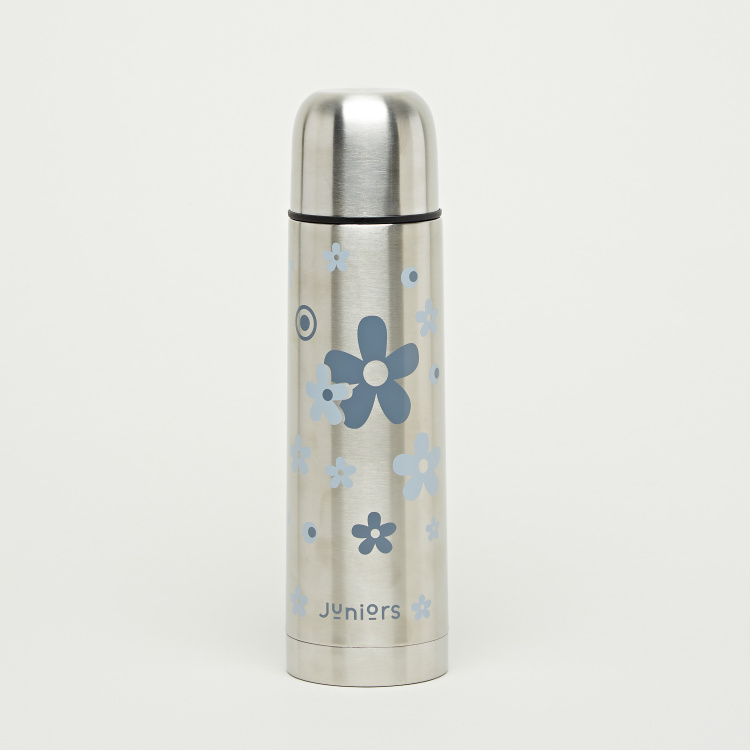Juniors Flower Printed Thermos Flask - 500 ml