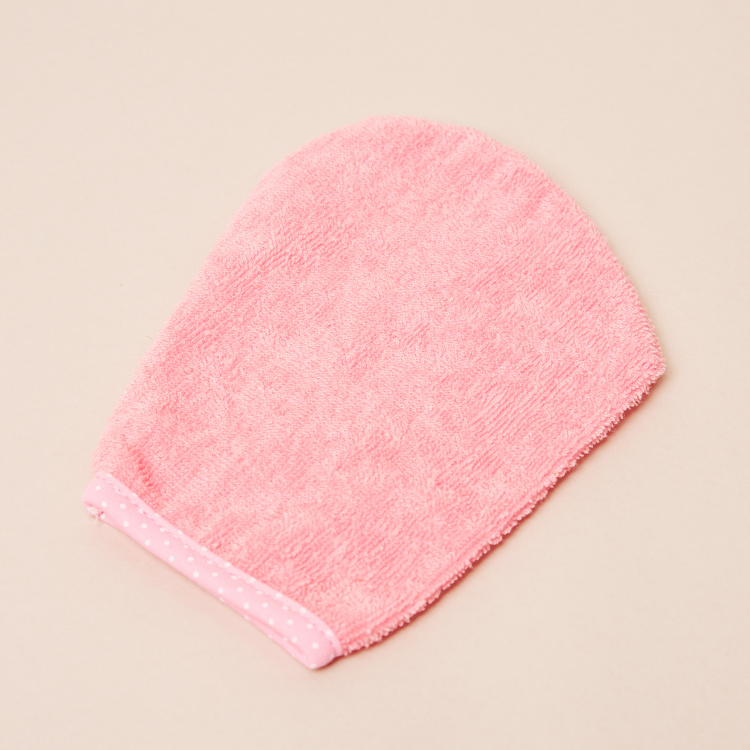 Juniors Embroidered Hooded Towel with Mitten - 75x90 cms