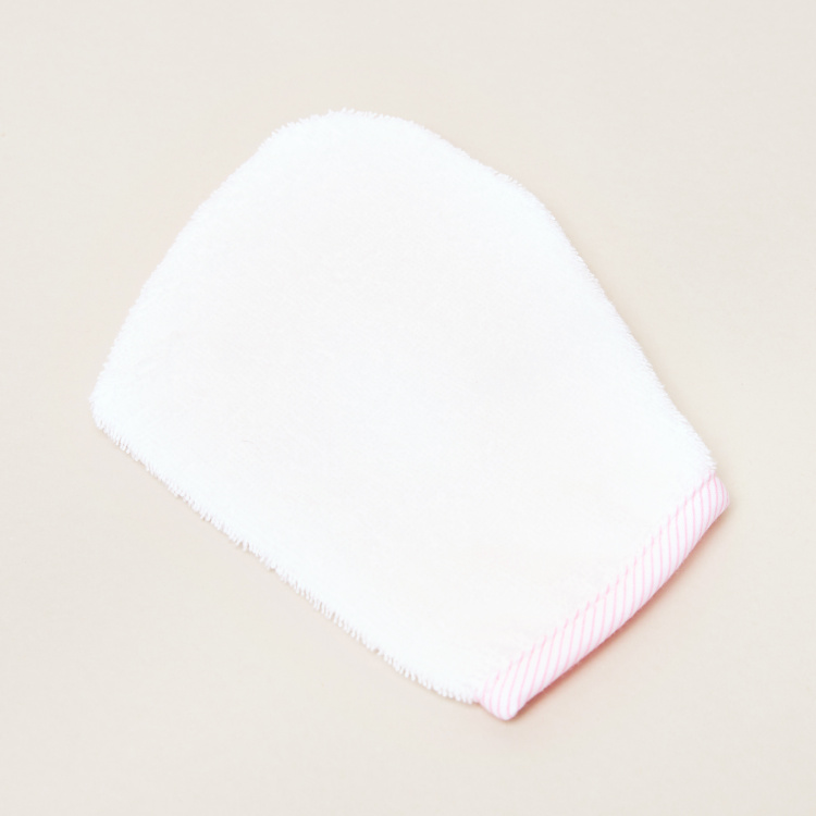Juniors Textured Hooded Towel with Mitten - 75x90 cms