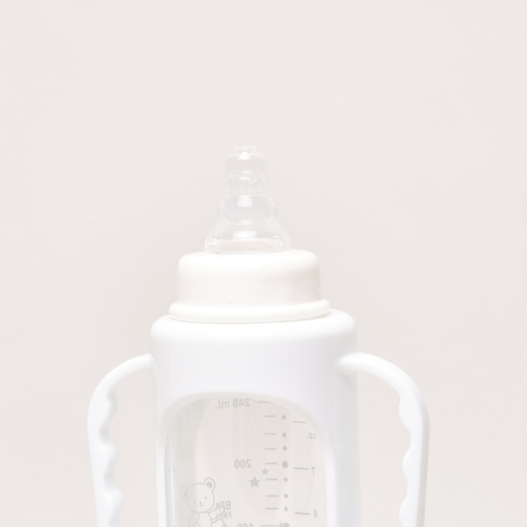 Giggles Feeding Bottle with Cover - 240 ml