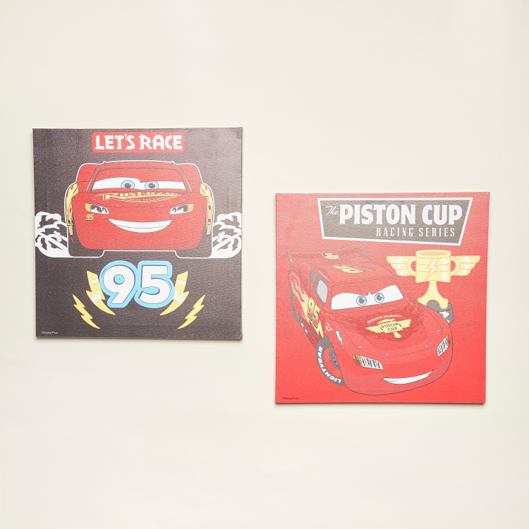 Disney Cars Wall Canvas