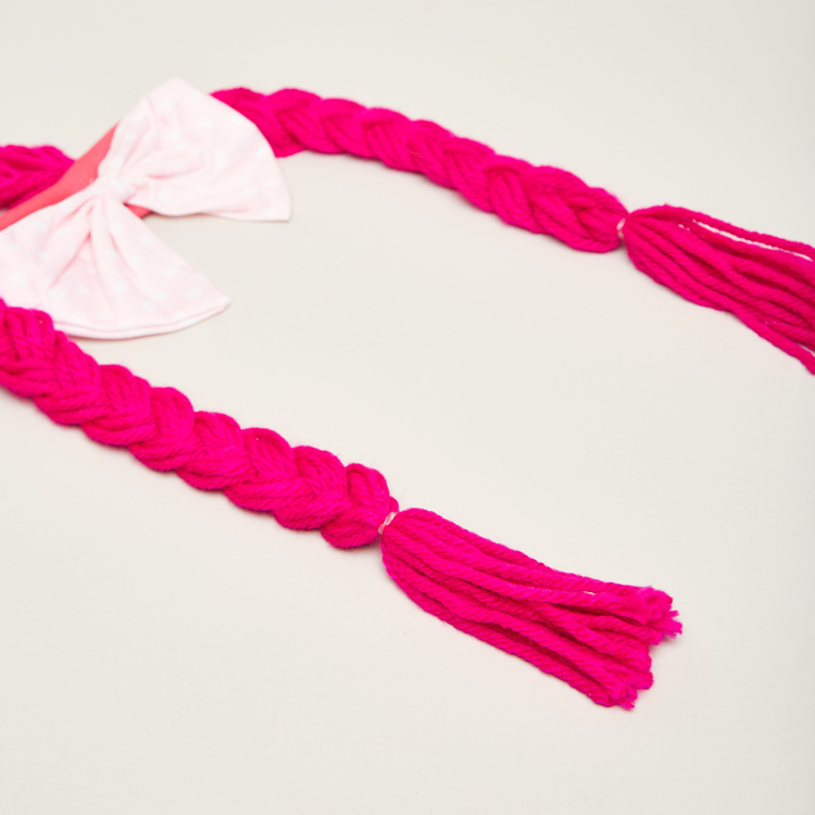 Charmz Bow and Braid Detail Headband