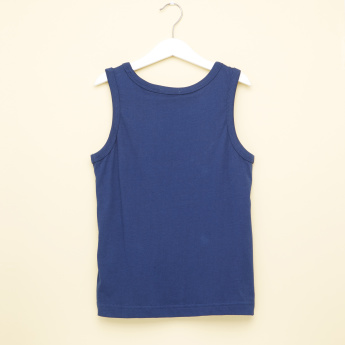 Bossini Printed Sleeveless T-Shirt