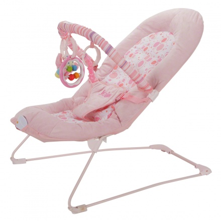Juniors Plum Baby Bouncer with Toy