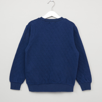 Bossini Plush Detail Long Sleeves Sweatshirt