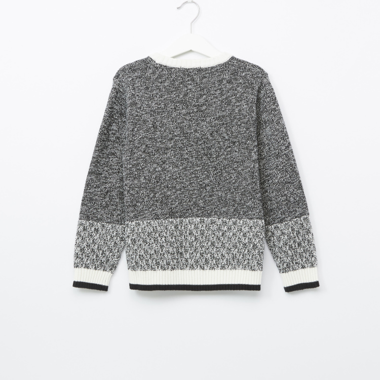 Bossini Round Neck Long Sleeves Sweater