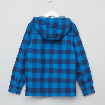 Bossini Chequered Long Sleeves Shirt Jacket