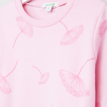 Bossini Dandelion Printed Long Sleeves Sweatshirt