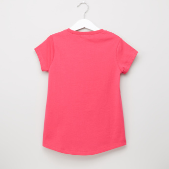 Bossini Printed Round Neck Short Sleeves T-Shirt