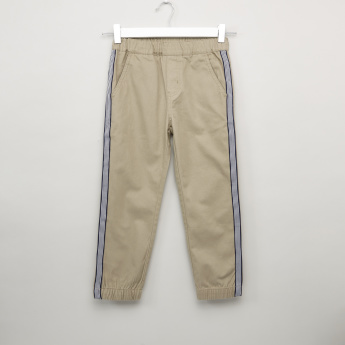Bossini Striped Side Tape Jog Pants