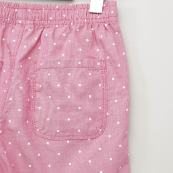 Bossini Printed Chambray Shorts