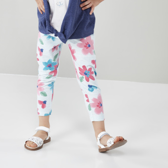 Bossini Floral Printed Leggings