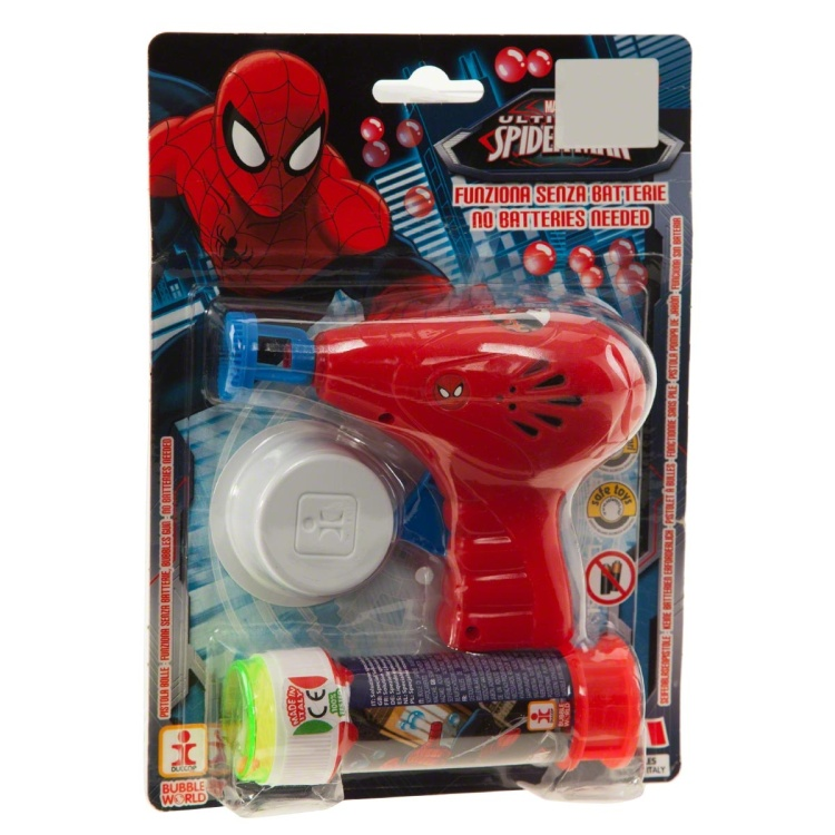 Spiderman Bubbles Gun