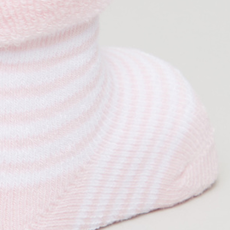 Giggles Striped Knitted Socks