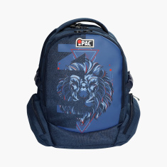 Simba iPac Print Backpack with Adjustable Straps - 18 inches