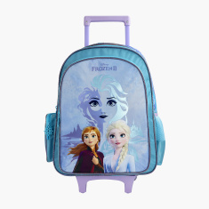 Disney Frozen Printed Trolley Backpack - 18 inches