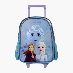 Disney Frozen Printed Trolley Backpack - 16 inches