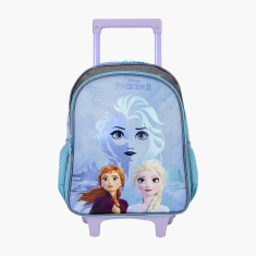 Disney Frozen II Print Trolley Backpack