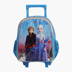 Disney Frozen Print Trolley Backpack with Adjustable Straps