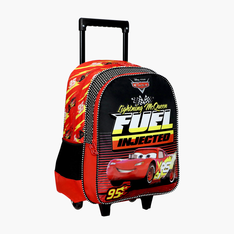 Disney Cars Fuel Injected Print Trolley Backpack - 16 inches