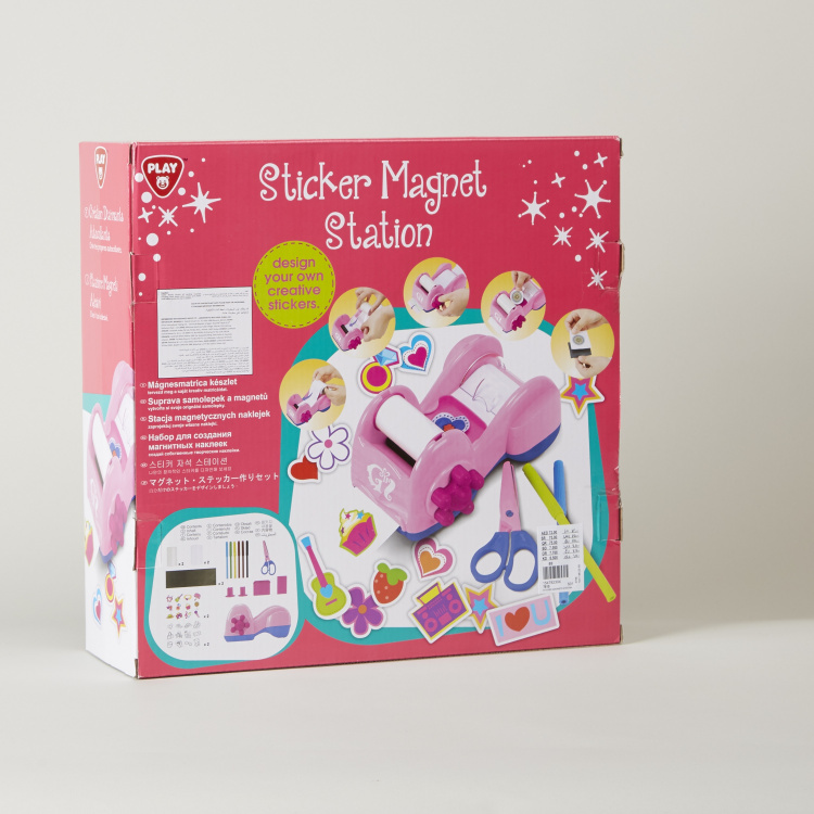 Playgo Sticker Magnets Station