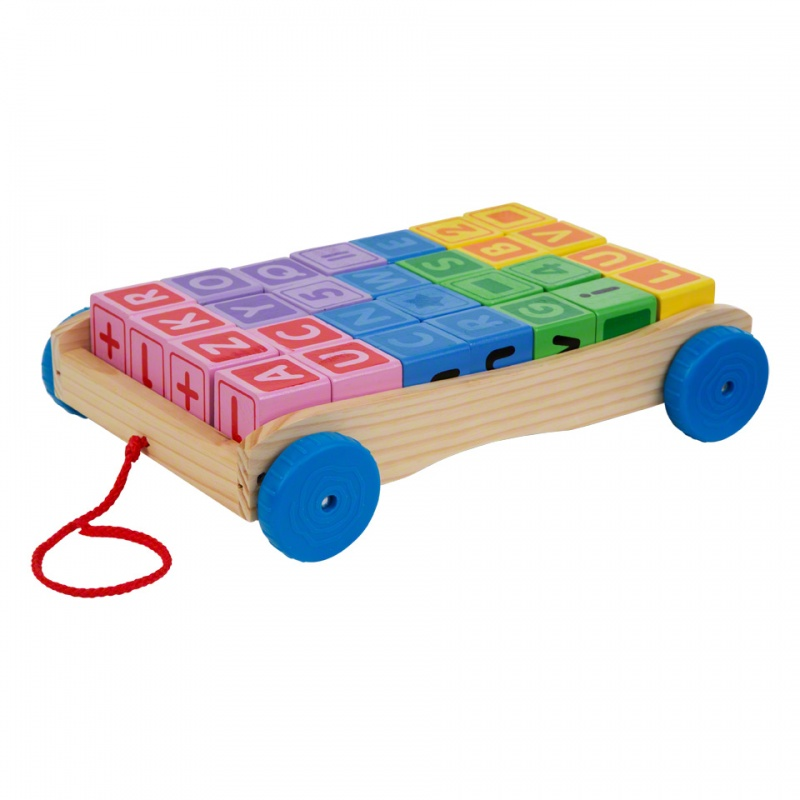Juniors Blocks Wagon