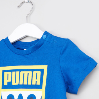 PUMA Monster Surf The Web T-shirt with Round Neck