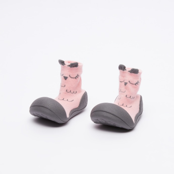 Attipas Printed Baby Shoes