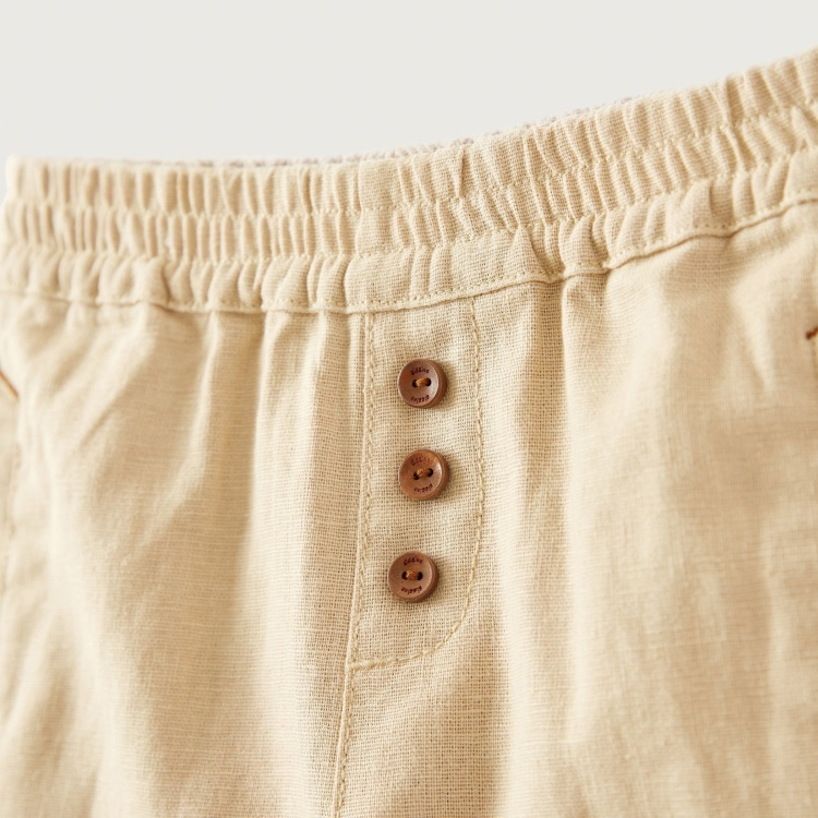 Giggles Pants with Pocket Detail and Elasticised Waistband