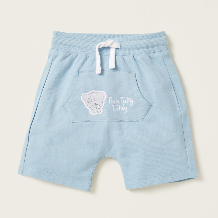 Carte Blanche Bear Print T-shirt and Shorts Set