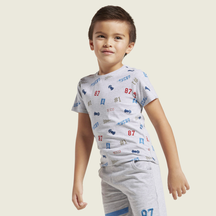 Juniors Graphic Print 3-Piece Clothing Set
