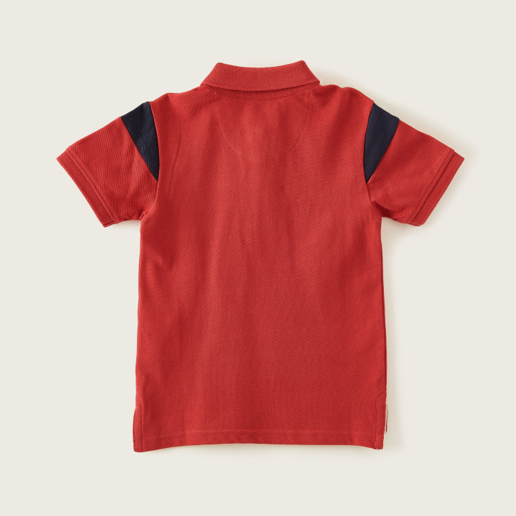 Lee Cooper Polo T-shirt with Short Sleeves