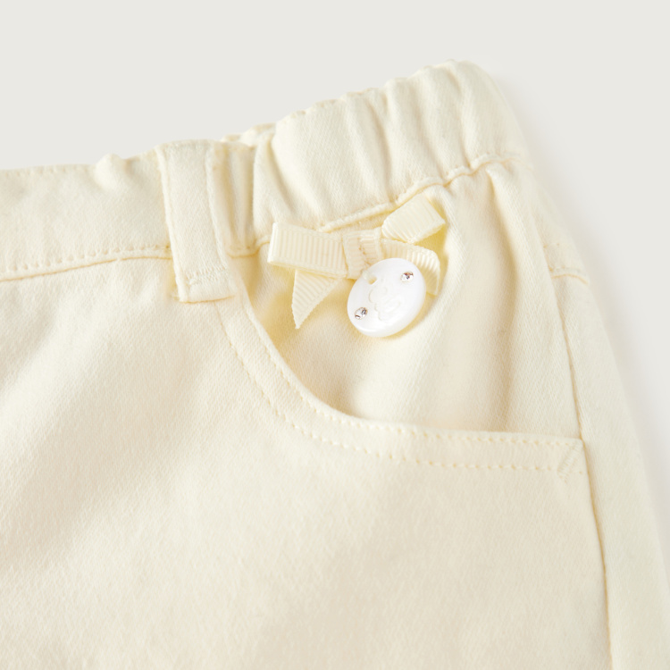 Giggles Solid Pull-On Pants