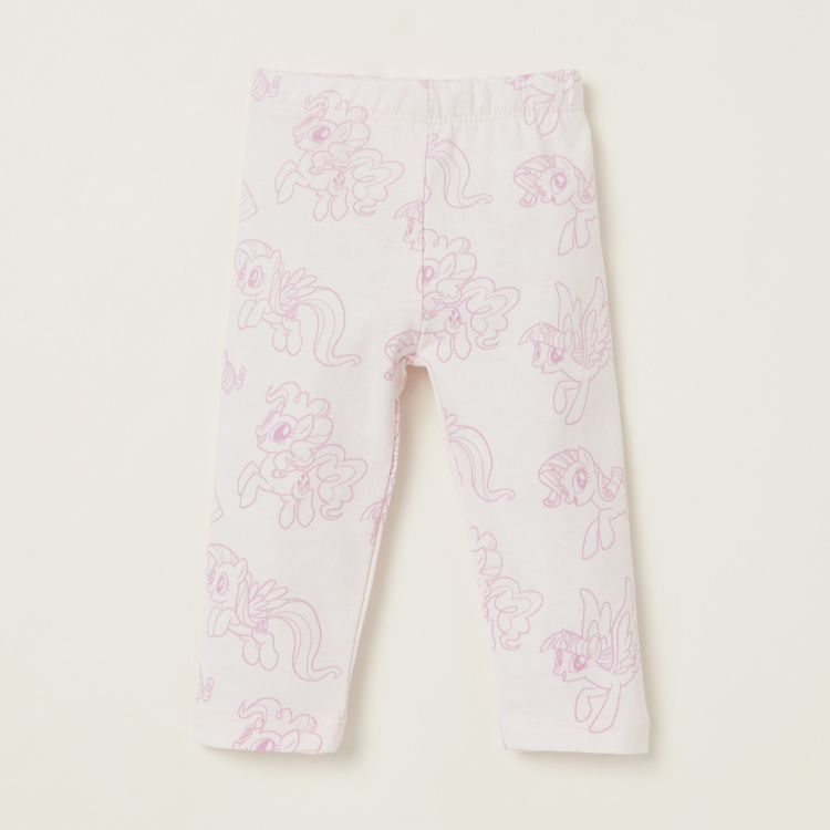 My Little Pony Graphic Print Leggings - Set of 2
