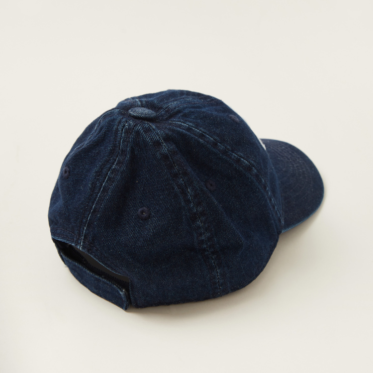 Juniors Embroidered Cap with Hook and Loop Closure