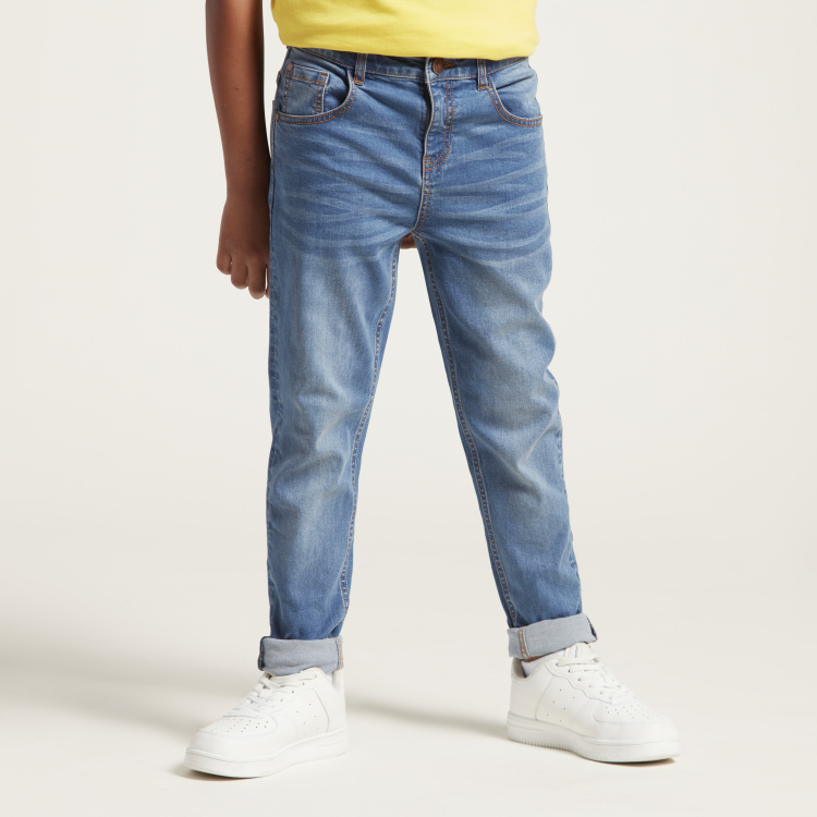 Juniors Full Length Jeans with 5-Pockets