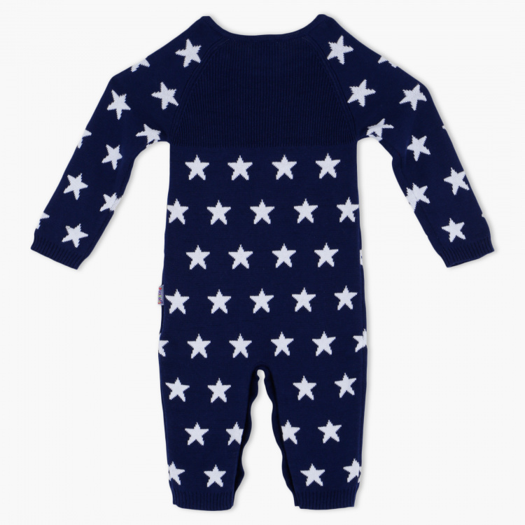 Juniors Round Neck Sleepsuit