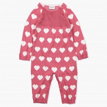 Juniors Woven Long Sleeves Sleepsuit