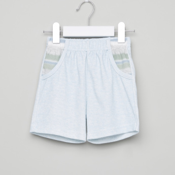 Juniors Printed Pocket Detail Shorts